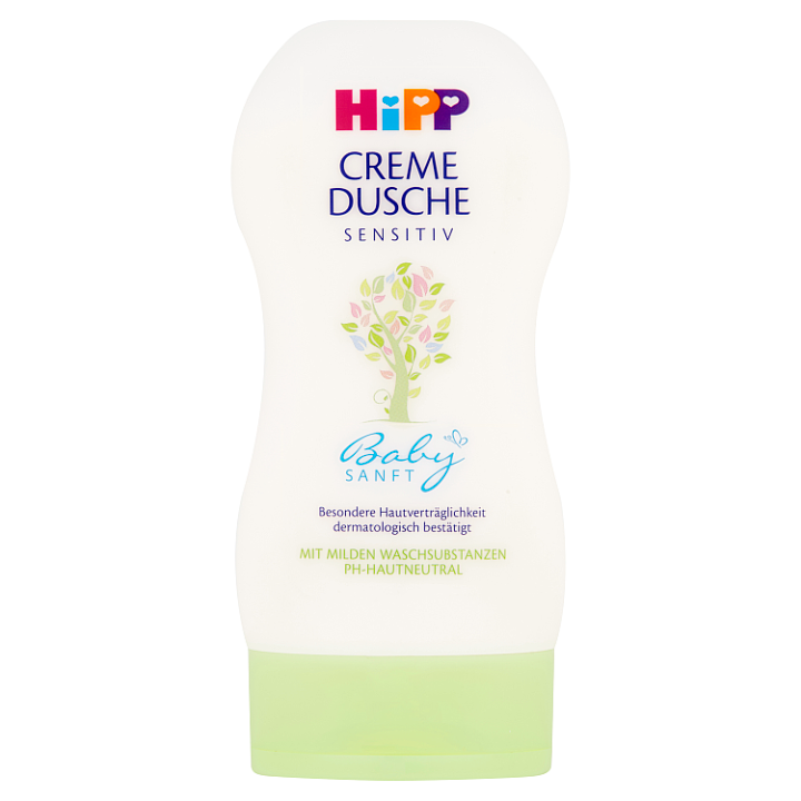 HiPP Babysanft Sensitiv sprchový krém 200ml