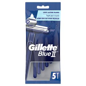 Gillette BlueII Pánská Pohotová Holítka 5ks