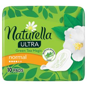 Naturella Ultra Normal Green Tea Hygienické Vložky S Křidélky 10ks