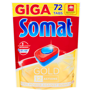 Somat Gold Tablety do myčky nádobí 72 tablet 1382,4g