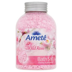 Ameté Koupelová sůl Wild Rose 600g