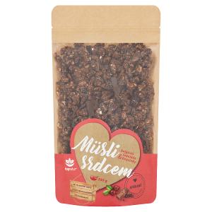 Topnatur Müsli srdcem belgická čokoláda & brusinky 350g