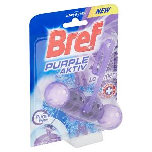 Bref Purple Aktiv Lavender tuhý WC blok 50g