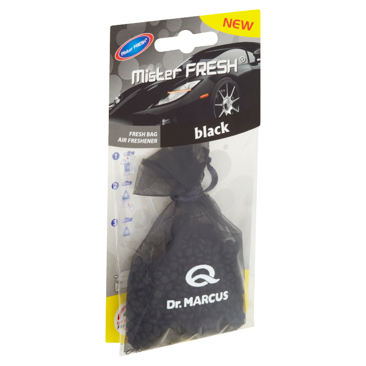 Mister Fresh Dr. Marcus Fresh Bag Black 20g