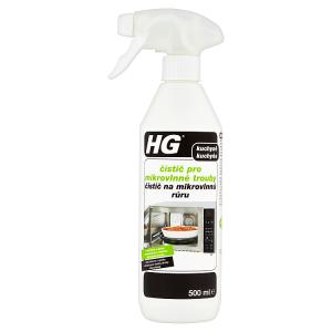 HG Čistič pro mikrovlnné trouby 500ml