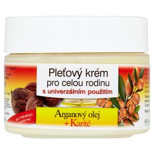 Bione Cosmetics Bio Arganový olej + karité pleťový krém pro celou rodinu 260ml