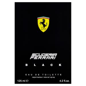 Scuderia Ferrari Black Eau de Toilette 125ml