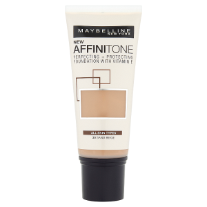 Maybelline Affinitone Sand Beige 30 hydratační make-up 30ml