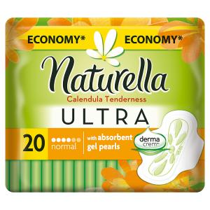 Naturella Ultra Normal Calendula Tenderness Vložky 20×