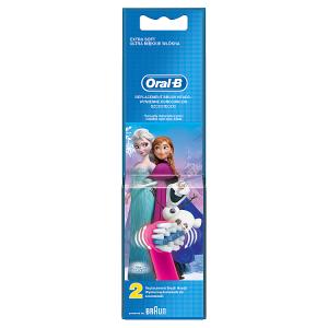 Oral-B Stages Kartáčkové Hlavice SMotivem Ledového Království 2 ks