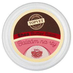 Topvet Balzám na rty shea butter
