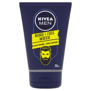 Nivea Men Mycí gel na tvář a vousy 100ml
