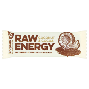 bombus Raw Energy Coconut & cocoa 50g