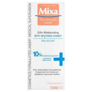Mixa Sensitive Skin Expert 24 h vyživující krém proti vysušování pleti 50ml