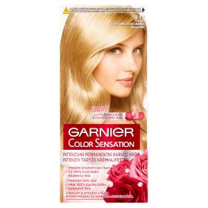 Garnier Color Sensation Intenzivní permanentní barvící krém velmi světlá blond duhová 9.13