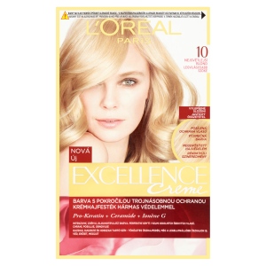 L'Oréal Paris Excellence Creme nejsvětlejší blond 10