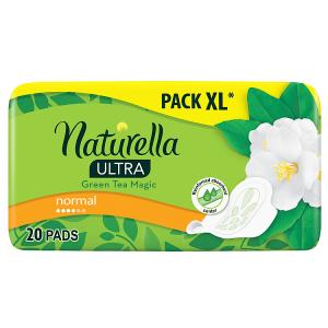 Naturella Ultra Normal Green Tea Hygienické Vložky S Křidélky 20ks