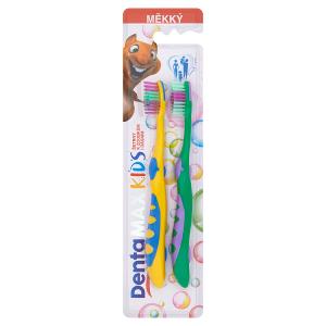 DentaMax Kids Dětský zubní kartáček měkký - mix variant
