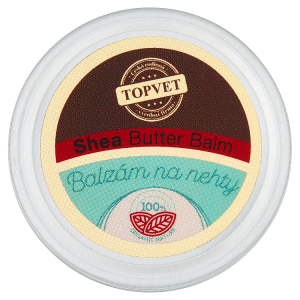 Topvet Balzám na nehty shea butter