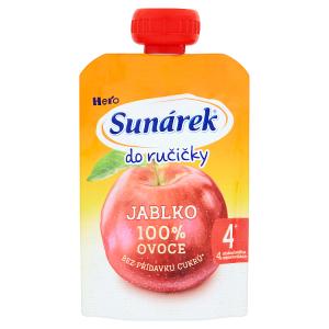 Sunárek Do Ručičky Jablko 100% ovoce 100g