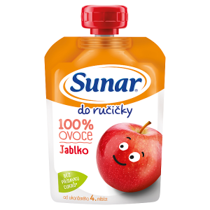 Sunar Do Ručičky Jablko 100% ovoce 100g