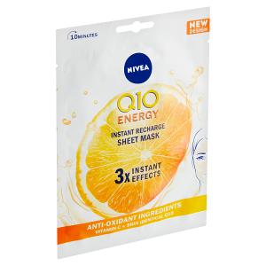 Nivea Q10 Energy 10minutová energizující textilní maska 1 ks