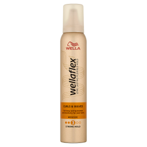 Wella Wellaflex Curls & Waves Strong Hold pěnové tužidlo 200ml