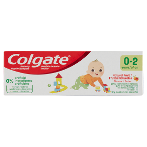 Colgate Natural Fruit zubní pasta 0-2 roky 50ml