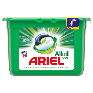 Ariel Allin1 Pods Alpine Kapsle Na Praní, 14 Praní
