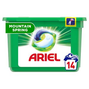 Ariel Allin1 Pods Mountain Spring Kapsle Na Praní 14 Praní