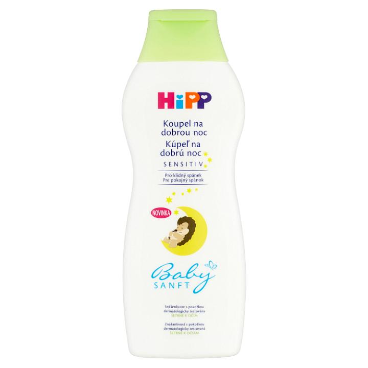 HiPP Babysanft Sensitiv koupel na dobrou noc 350ml