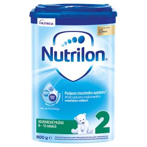 Nutrilon 2 pokračovací kojenecké mléko 6-12 měsíců 800g