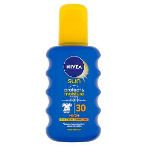Nivea Sun Protect & Moisture Hydratační sprej na opalování OF 30 200ml