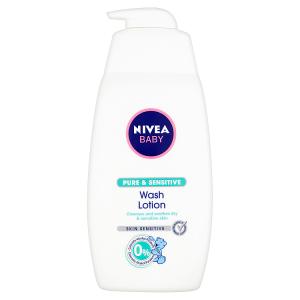 Nivea Baby Pure & Sensitive Mycí gel na tvář a tělo 500ml