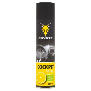 Coyote Cockpit spray citrón 400ml
