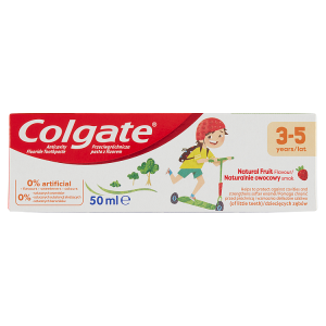Colgate Natural Fruit zubní pasta 3-5 let 50ml