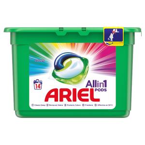 Ariel Allin1 Pods Color Kapsle Na Praní, 14 Praní