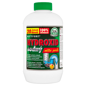 Kittfort Hydroxid sodný aktiv perle 1kg