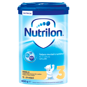 Nutrilon 3 Vanilla 12 - 24 měsíců 800g