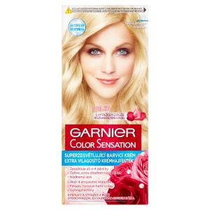Garnier Color Sensation Superzesvětlující barvící krém stříbrná ultrablond 111