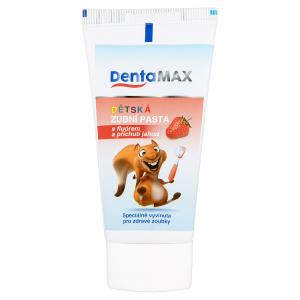 DentaMax Dětská zubní pasta s fluórem a příchutí jahod 50ml