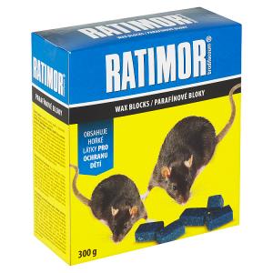 Ratimor Brodifacoum parafínové bloky 300g