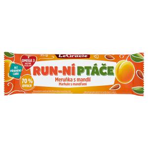 Tyčinka Run-ní ptáče meruňka a mandle s chia 35 g