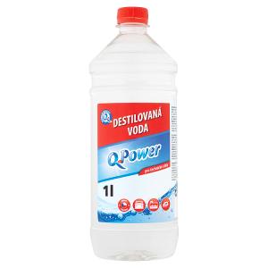Q-Power Destilovaná voda 1l