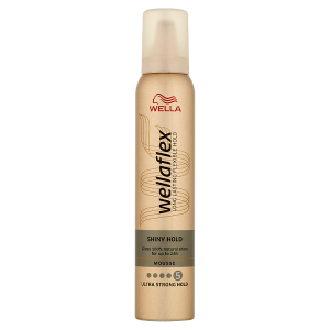 Wella Wellaflex Shiny Hold Ultra Strong Hold pěnové tužidlo 200ml