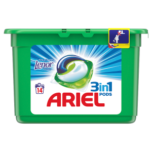 Ariel Touch Of Lenor Fresh Kapsle Na Praní 3v1 14Praní