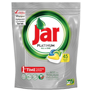 Jar Platinum Kapsle Do Automatické Myčky Nádobí Lemon 45 Ks