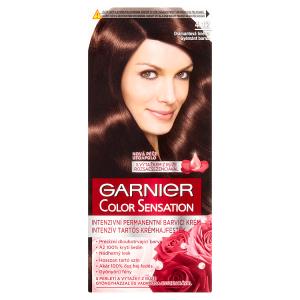 Garnier Color Sensation Intenzivní permanentní barvící krém diamantová hnědá 4.12