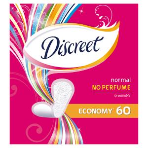 Discreet Normal Intimky Bez Vůně 60 ks
