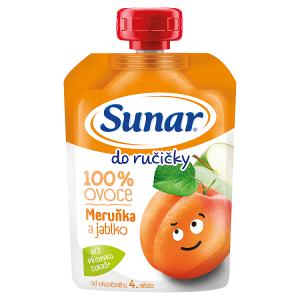 Sunar Do Ručičky Meruňka a jablko 100% ovoce 100g